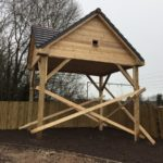 Bat/Owl Barn Under Construction - Cheshire Banks, Crewe for Bellway